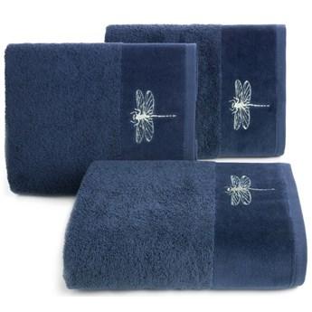 Ręcznik bawełniany granatowy R148-09