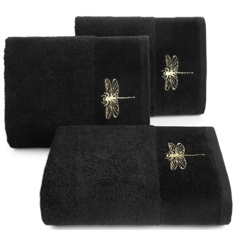 Ręcznik bawełniany czarny R148-10