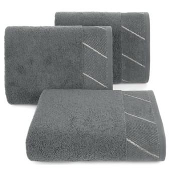 Ręcznik bawełniany stalowy R150-05