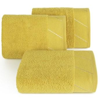 Ręcznik bawełniany musztardowy R150-08