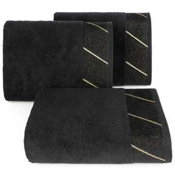 Ręcznik bawełniany czarny R150-10
