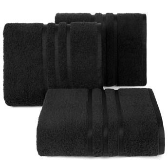 Ręcznik bawełniany czarny R152-06
