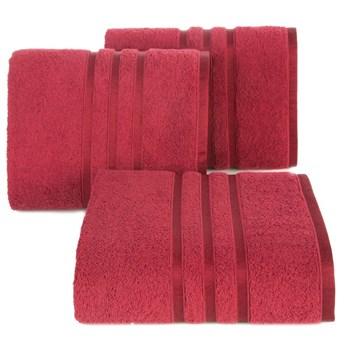 Ręcznik bawełniany czerwony R152-07