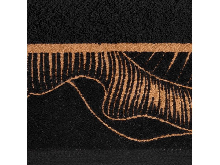 Ręcznik bawełniany czarny R153-01