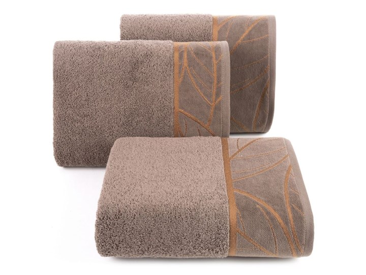 Ręcznik bawełniany ciemnobeżowy R154-01