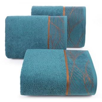 Ręcznik bawełniany ciemnoturkusowy R156-01