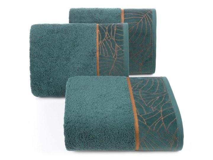Ręcznik bawełniany ciemnozielony R157-01