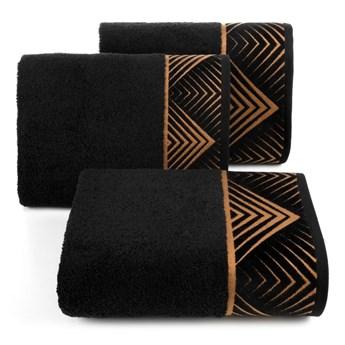 Ręcznik bawełniany czarny R160-01