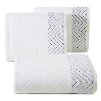 Ręcznik bawełniany biały R158-01