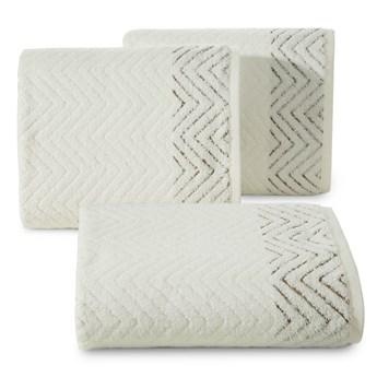 Ręcznik bawełniany kremowy R158-02