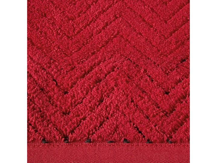 Ręcznik bawełniany czerwony R158-04 50x90 cm Bawełna 30x50 cm Kategoria Ręczniki