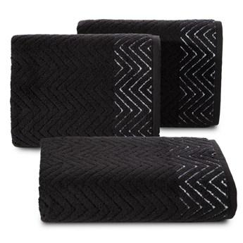Ręcznik bawełniany czarny R158-05
