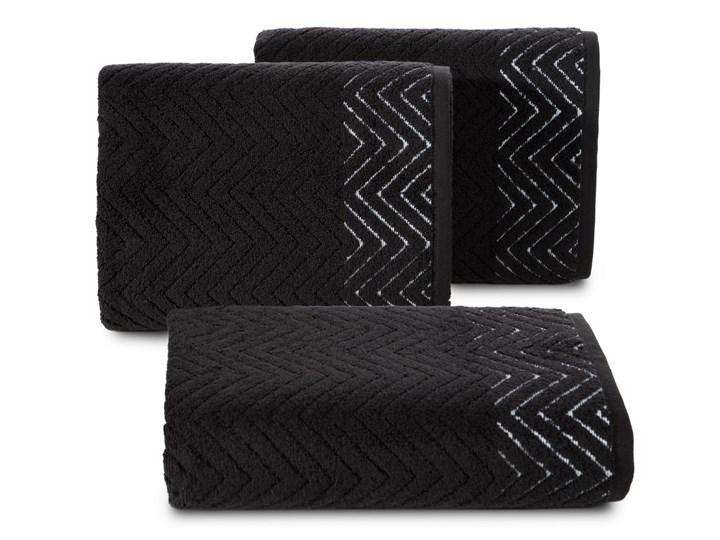 Ręcznik bawełniany czarny R158-05 50x90 cm 30x50 cm Bawełna Kategoria Ręczniki