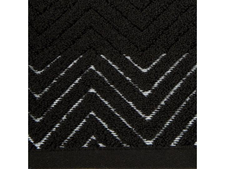 Ręcznik bawełniany czarny R158-05 Bawełna 50x90 cm 30x50 cm Kategoria Ręczniki