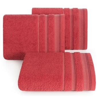 Ręcznik bawełniany czerwony  R3