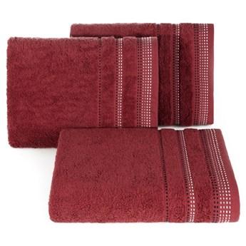 Ręcznik bawełniany bordowy R3