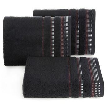 Ręcznik bawełniany czarny R3