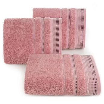 Ręcznik bawełniany pudrowy R3