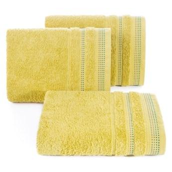Ręcznik bawełniany musztardowy R3-27