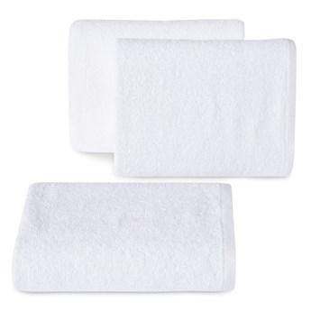 Ręcznik bawełniany gładki biały R46