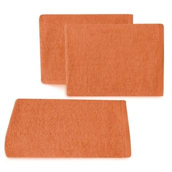 Ręcznik bawełniany gładki pomarańczowy R46