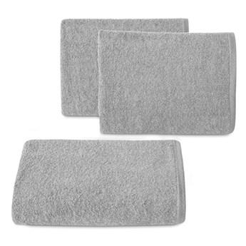 Ręcznik bawełniany gładki srebrny R46