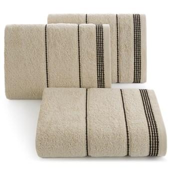 Ręcznik bawełniany beżowy R77