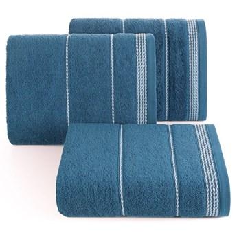 Ręcznik bawełniany ciemnoniebieski  R77