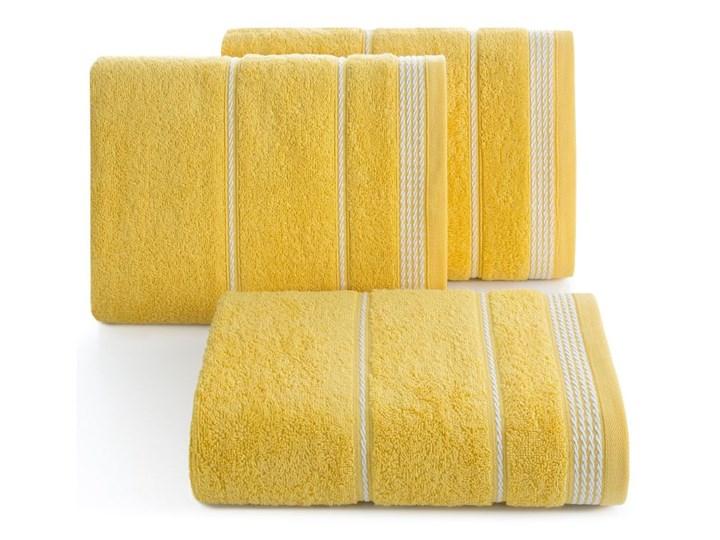 Ręcznik bawełniany żółty R77