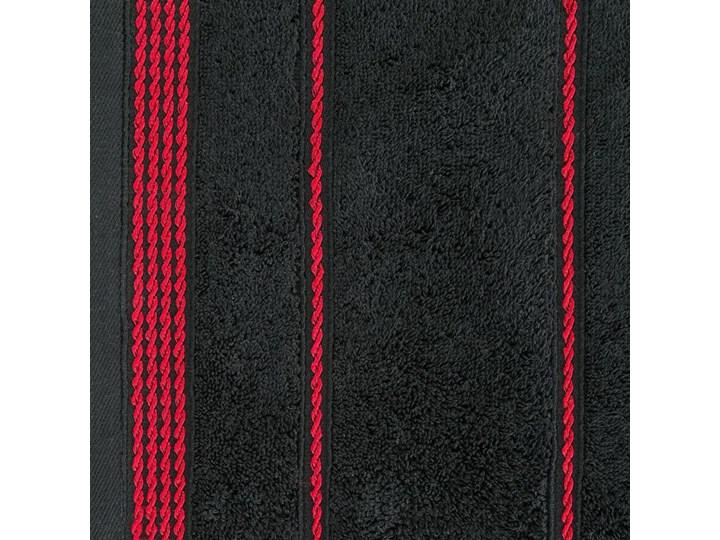 Ręcznik bawełniany czarny R77 Kategoria Ręczniki Bawełna Kolor Czerwony