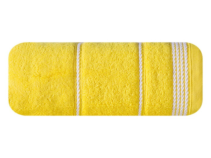 Ręcznik bawełniany żółty  R77 Bawełna Kategoria Ręczniki