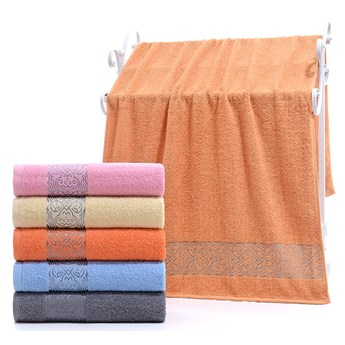 Ręcznik bawełniany różowy RBQ-01