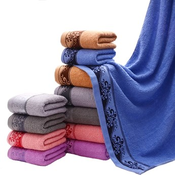 Ręcznik bawełniany niebieski RBT-07