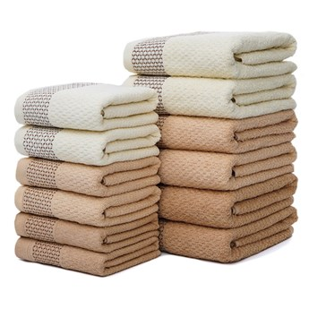 Ręcznik bawełniany beżowy RBW-03