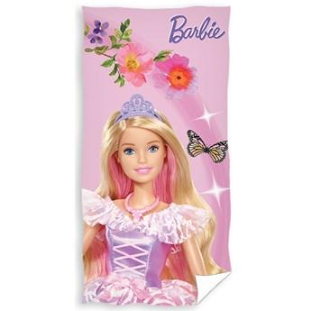 Ręcznik bawełniany Barbie 70x140 RDC-317