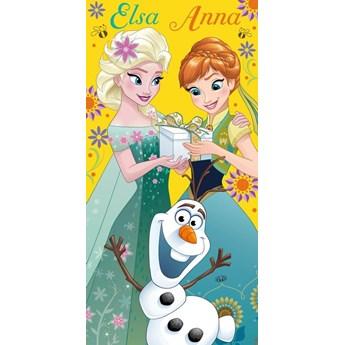 Ręcznik bawełniany licencyjny Frozen 70/140 RDY-06