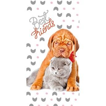 Ręcznik bawełniany licencyjny Best Friends 70/140 RDY-08