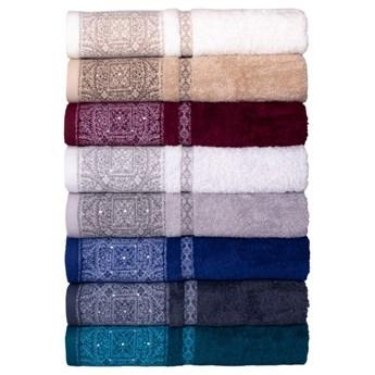 Ręcznik bawełniany burgundowy RFE-06