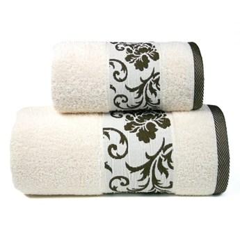 Ręcznik bawełniany Greno kremowy RFO-02