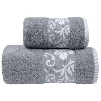 Ręcznik bawełniany Greno jasno-popielaty RFO-04