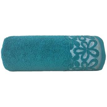 Ręcznik bawełniany Greno szmaragdowy RFQ-03