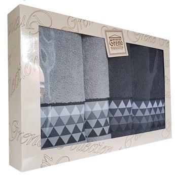 Komplet ręczników 4 częsciowy RPU4-02