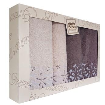 Komplet ręczników 4 częsciowy RPU4-03