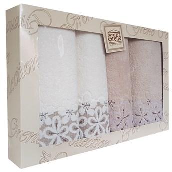 Komplet ręczników 4 częsciowy RPU4-04