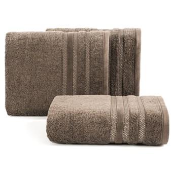 Ręcznik bawełniany brązowy R43