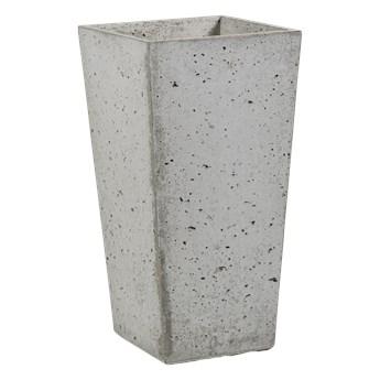 Donica betonowa CONE M 32x32x63 szary naturalny