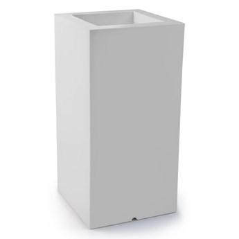 Donica z polietylenu TOWER POT M biały