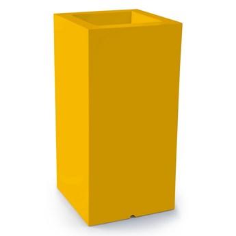 Donica z polietylenu TOWER POT M żółty