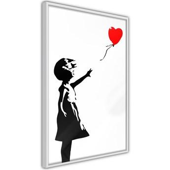 Plakat - Banksy: Girl with Balloon I