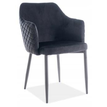 Krzesło ASTOR VELVET Czarny Signal